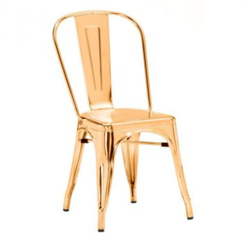 Helio Dining Chair | Gold