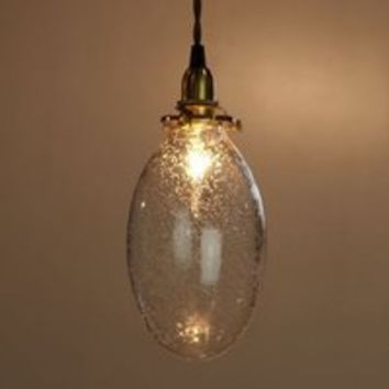 Oval Bubble Glass Shade by Josue Oris