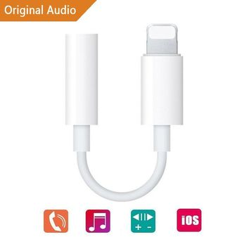 [Apple MFI Certified] Bestland Lightning to 3.5mm Headphone Jack Adapter for iPhone 7 7 Plus iPhone 8 8 Plus iPhone X Touch iPad and More White