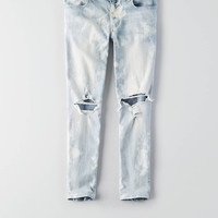 AEO Denim X Jegging Crop , Beautiful Bleach Out