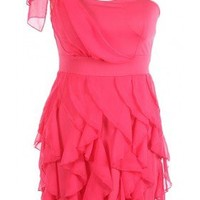 The Pink Ruffle Dress - 29 N Under
