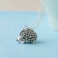 Handmade Gifts | Independent Design | Vintage Goods Teeny Tiny Hedgehog Necklace - Back in Stock