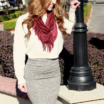 Turn Around Pencil Skirt