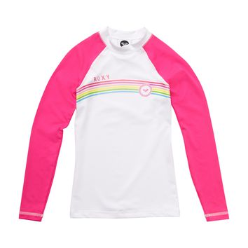 Roxy - Girls 7- 14 From Above LS Girls Rashguard
