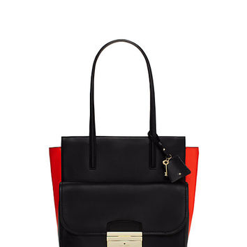 Kate Spade Villa Place Beckett Black/Cajun Shrimp ONE