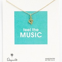 Dogeared 'Reminder - Feel the Music' Boxed Pendant Necklace | Nordstrom