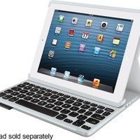 Logitech - Keyboard Folio Case for Apple® iPad® 2, iPad 3rd Generation and iPad with Retina - Carbon Black