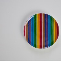 for my kids / Gretel - Colour Stripe Melamine Plate