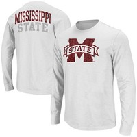 Mississippi State Bulldogs Touchdown Long Sleeve T-Shirt - White