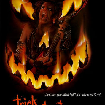 Trick or Treat 11x17 Movie Poster (1986)