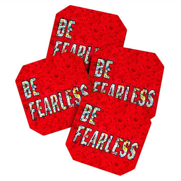 Amy Smith Be Fearless Coaster Set