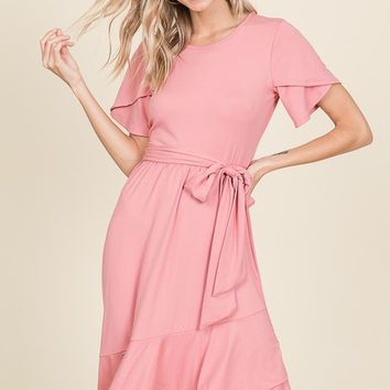 Harper Ruffle Dress