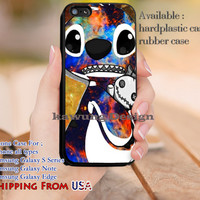 Cute Galaxy Lilo and Stitch iPhone 6s 6 6s+ 5c 5s Cases Samsung Galaxy s5 s6 Edge+ NOTE 5 4 3 #cartoon #animated #disney #Lilo&Stitch dl11