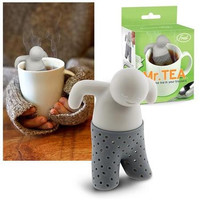 Mr.Tea Infuser Loose Tea Leaf Strainer