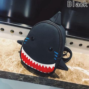 Toddler Backpack class Blue 3D Shark Waterproof School Bags Cartoon Animal Toddler Baby Bag For Girls Boys Children School Bags Kids Backpack AT_50_3