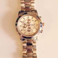Forever Boyfriend Watch - Gold