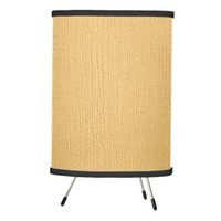 Texture Neautral Wall Abstract Tripod Lamp