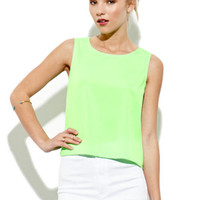 NAVEN Boxy Cropped Tank at PacSun.com