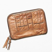 Free People Womens Patched Travel Wallet