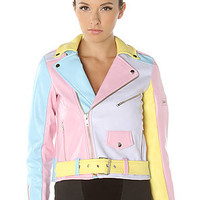 UNIF The Pastel Moto Jacket : Karmaloop.com - Global Concrete Culture
