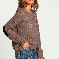 Chunky Cable Knit Sweater - LoveCulture