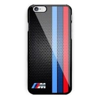 BMW M Collection Logo Black Grill For iPhone 6 6s 7 8 X Plus Har Plastic Case