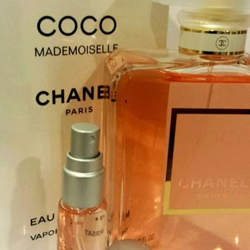 Women 10 ml Atomizer spray - Sexy CHANEL COCO MADEMOISELLE, for yoga gym bag