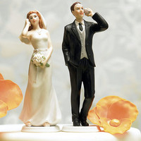 Cell Phone Bride & Groom Cake Toppers | Bride Groom Cake Toppers