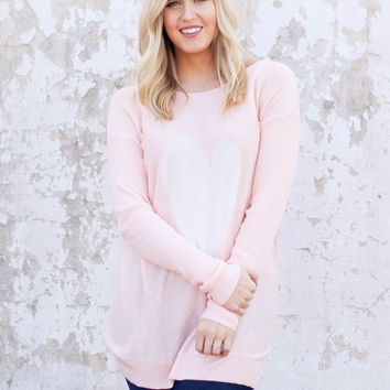 Sweet Nothings Sweater - Pink