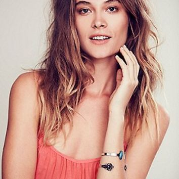 Free People Womens Open Cuff Duo -