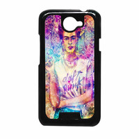 Frida Kahlo Flower Paintings On Galaxy Nebula HTC One X Case