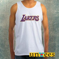Los Angeles Lakers Clothing Tank Top For Mens