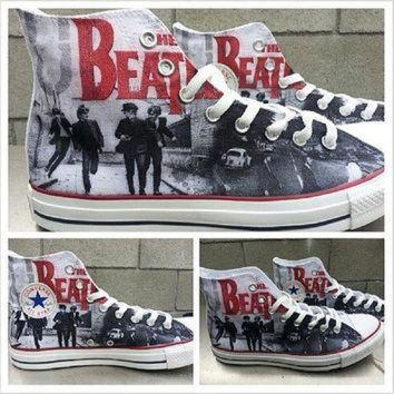 ONETOW The Beatles Custom Converse All Stars