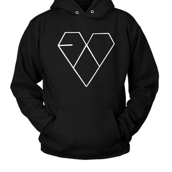 Exo Hoodie Two Sided