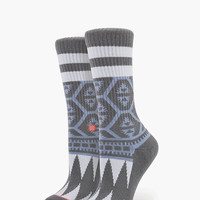 Stance Luna Everyday Tomboy Athletic Womens Socks Grey One Size For Women 25898011501