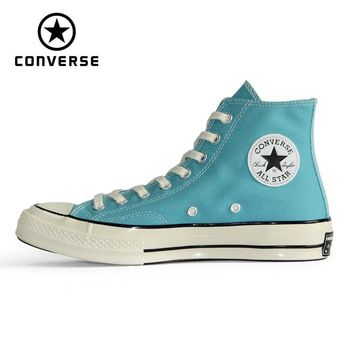 1970s Original Converse all star Vintage shoes Retro classic men and women unisex sneakers  Skateboarding Shoes 161440C