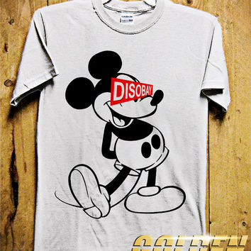 DISOBAY MICKEY MOUSE Men T-Shirt - Anonymous T-Shirt - Occupy Wall Street - Disney Design for Men T-Shirt (Various All Color Available)
