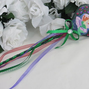 Disneys Little Mermaid Wand - Ariel - Disneys Ariel - Little Mermaid Birthday - Ariel Party - Wand - Ariel Birthday - Ariel Costume