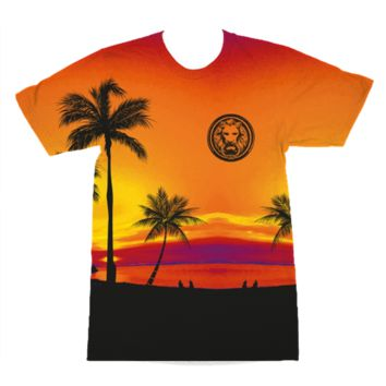 Tropical Storm All over Print T-Shirt