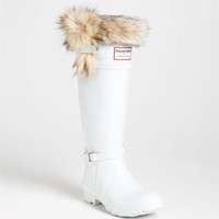 Hunter for J. Mendel Genuine Fur Trim Boot (Women)
