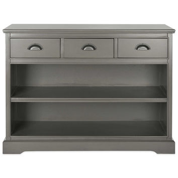 Safavieh Prudence Bookcase in Grey