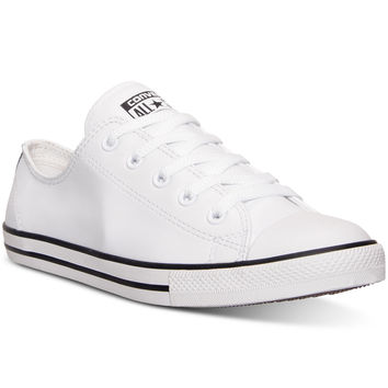 Converse Women's Chuck Taylor Dainty Leather Casual Sneakers from Finish Line