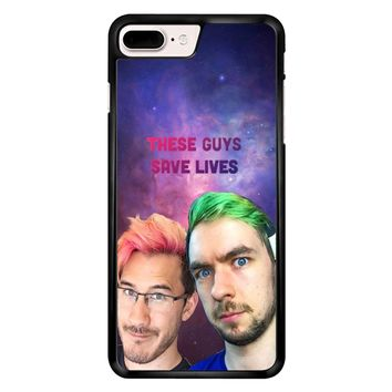 Jacksepticeye And Pewdiepie Markiplier 001  iPhone 7 Plus Case