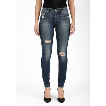 Articles Of Society Sarah Cut Off Hem Jeans - Prarie