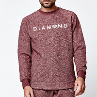 Diamond Supply Co x Garnet Speckle Crew Neck Sweatshirt at PacSun.com