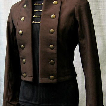 Bavaria Jacket by Shrine Clothing Goth Steampunk Mens Jackets