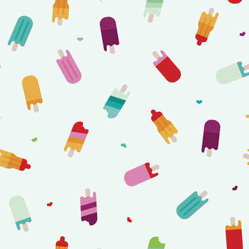 Popsicle Paradise Removable Wallpaper