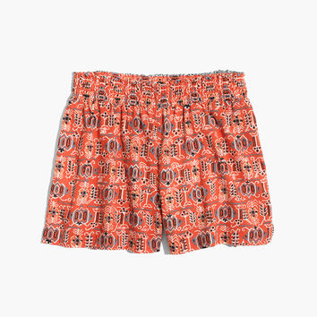 Kingston Cover-Up Shorts in Hula Flower : | Madewell
