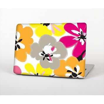The Bright Summer Brushed Flowers  Skin Set for the Apple MacBook Pro 15""