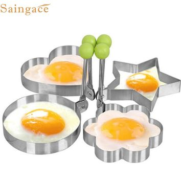 My House Fashion Heaven Hot Sale Stainless Steel Fried Egg Shaper Pancake Mould Mold Kitchen Cooking Tools drop shipping Sep5